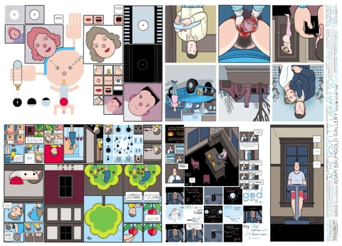 Chris Ware poster